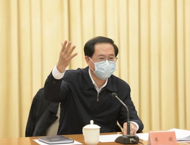 """浙江省委书记车俊:建设与""""两个高水平""""相"""