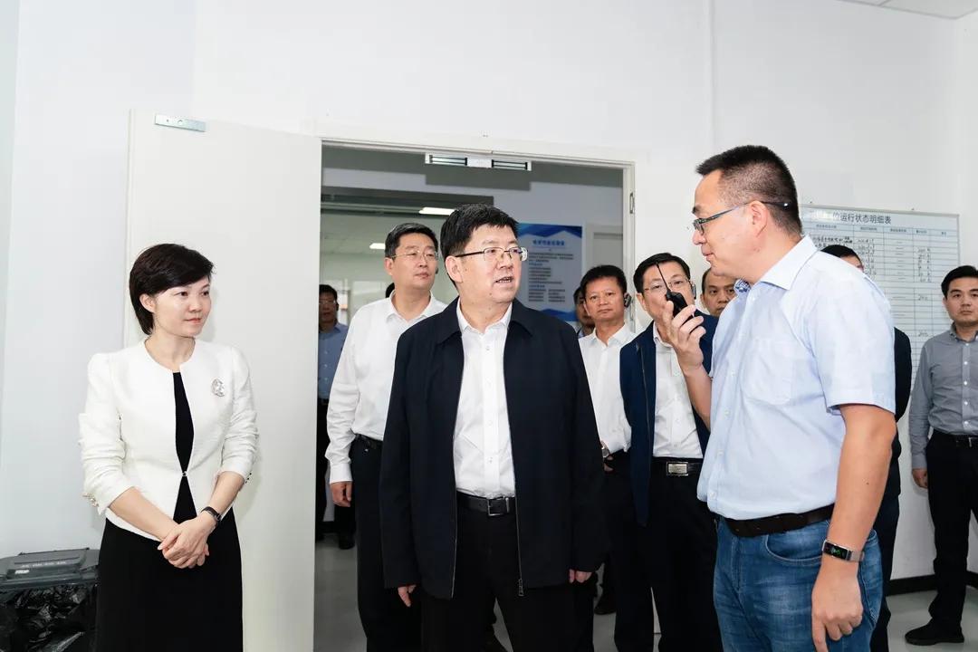 安徽省黄山市党政代表团来缙考察